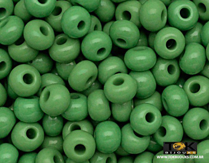 Missangão Jablonex - Verde Bandeira Leitoso - 500g