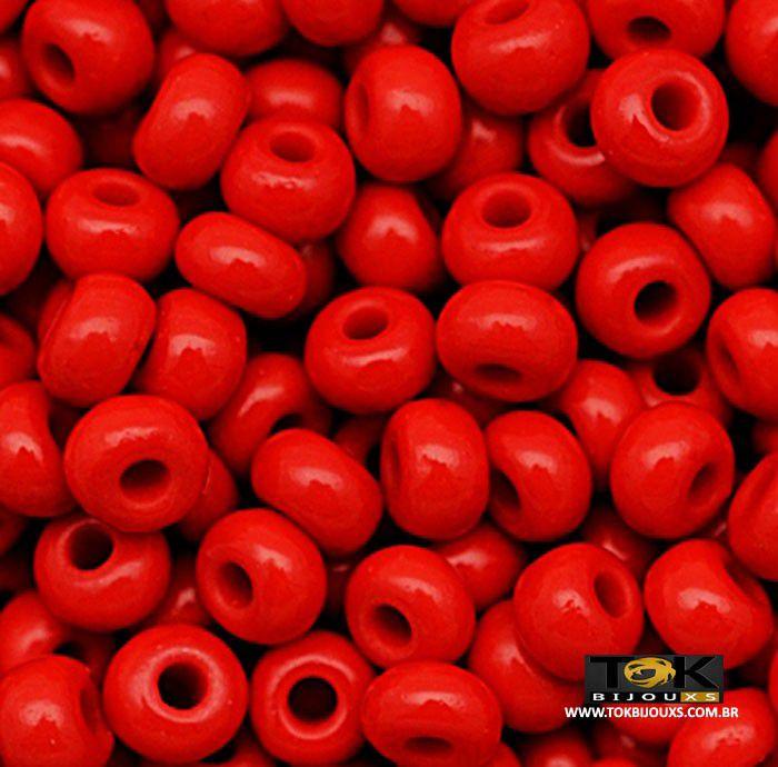Missangão Jablonex - Vermelho Leitoso - 500g