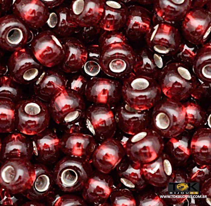 Missangão Jablonex - Vermelho Transparente - 25g