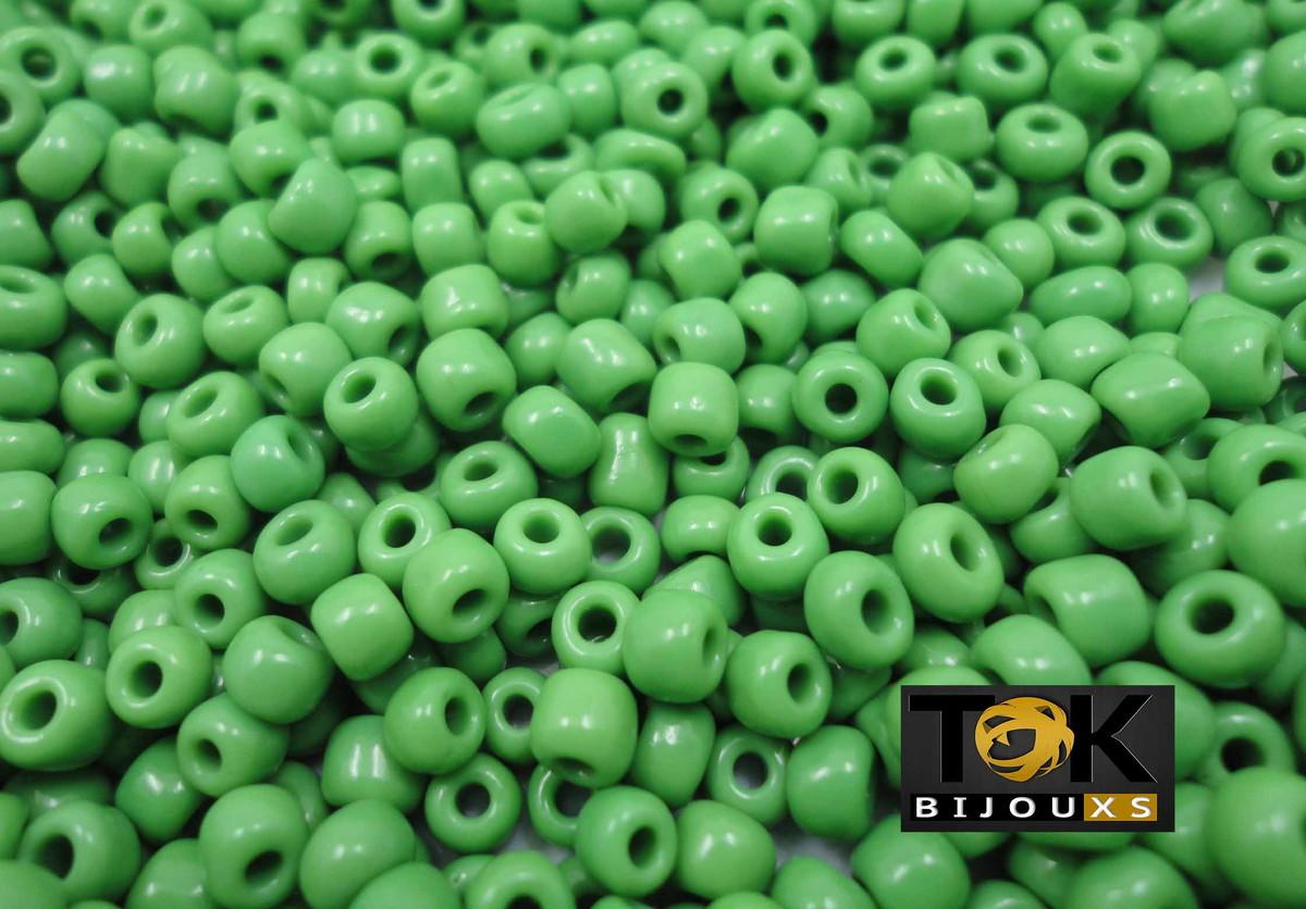 Missangão Verde Bandeira 6/0 - 50g