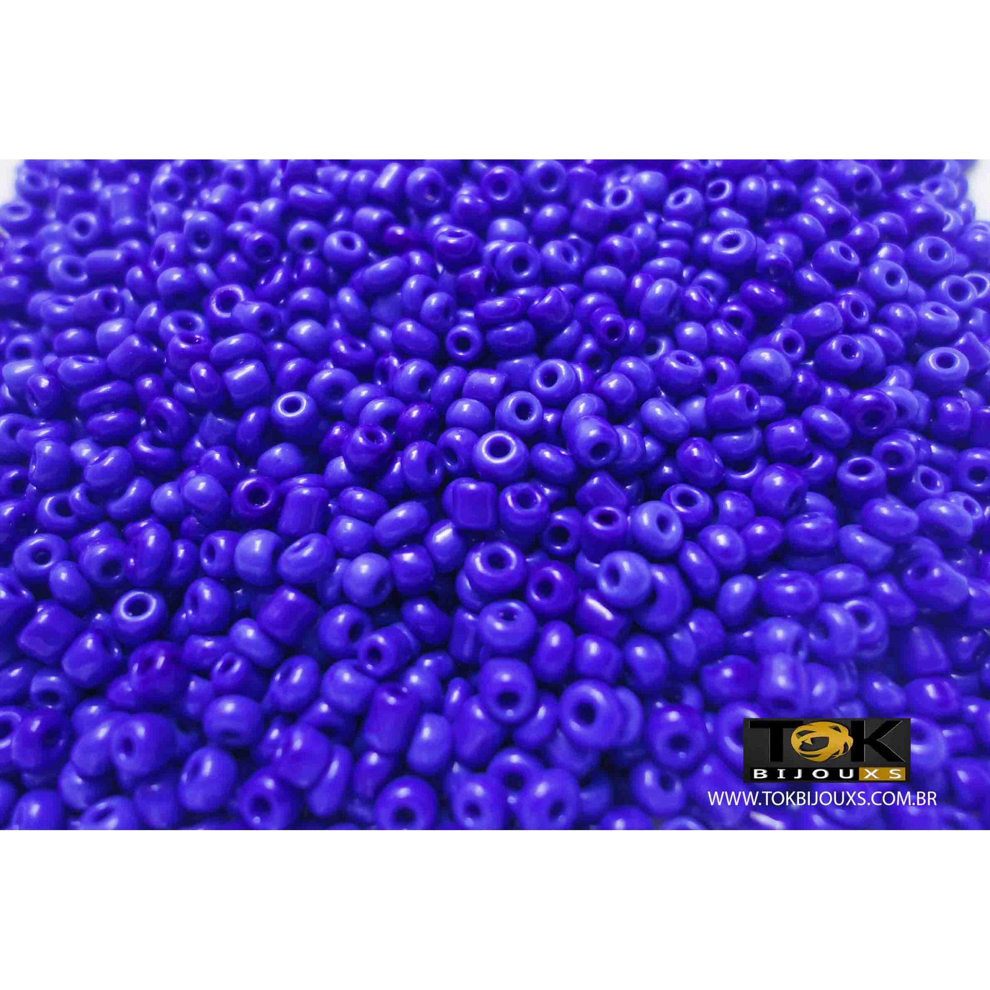 Missanguinha Azulão Opaca 10/0 - 50g