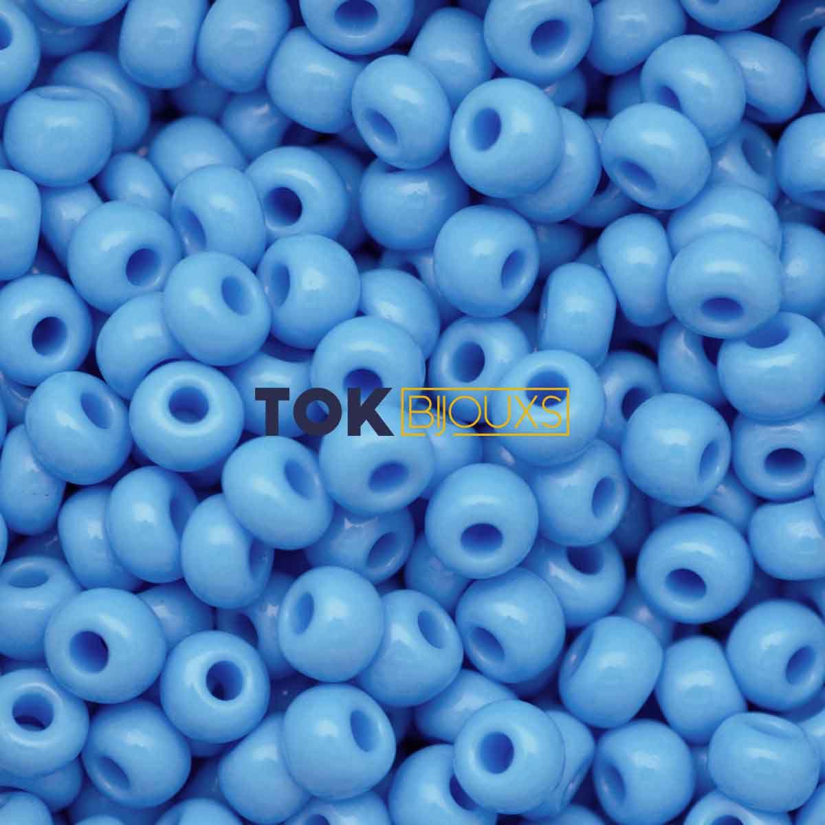 Missanguinha Jablonex - Azul Turquesa Leitoso - 25g
