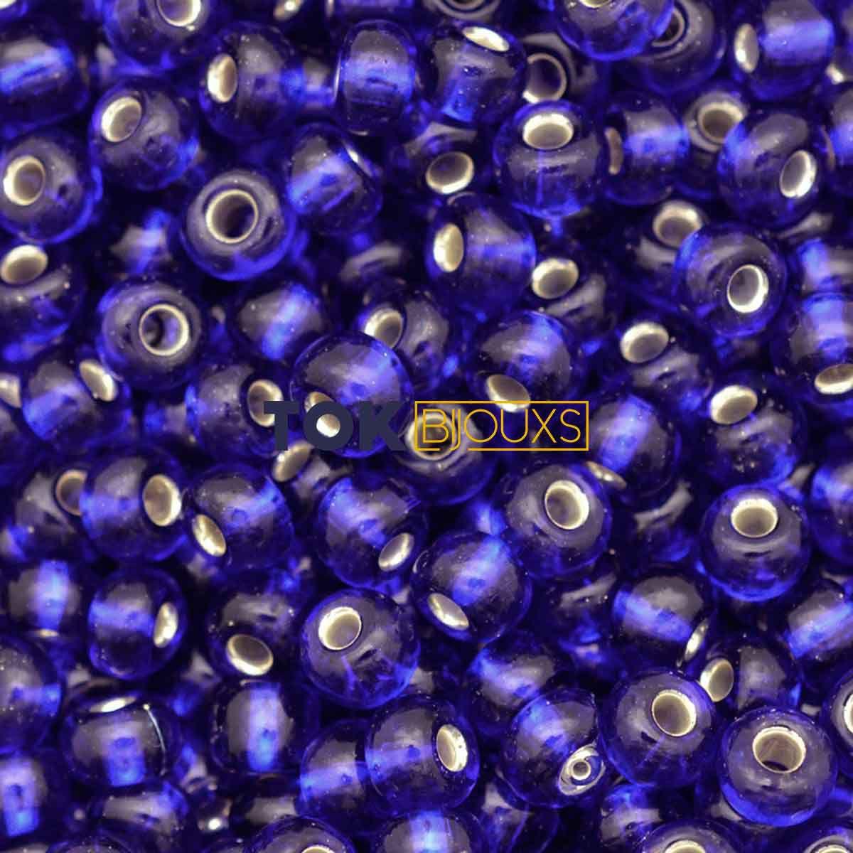 Missanguinha Jablonex - Azulão Transparente - 25g