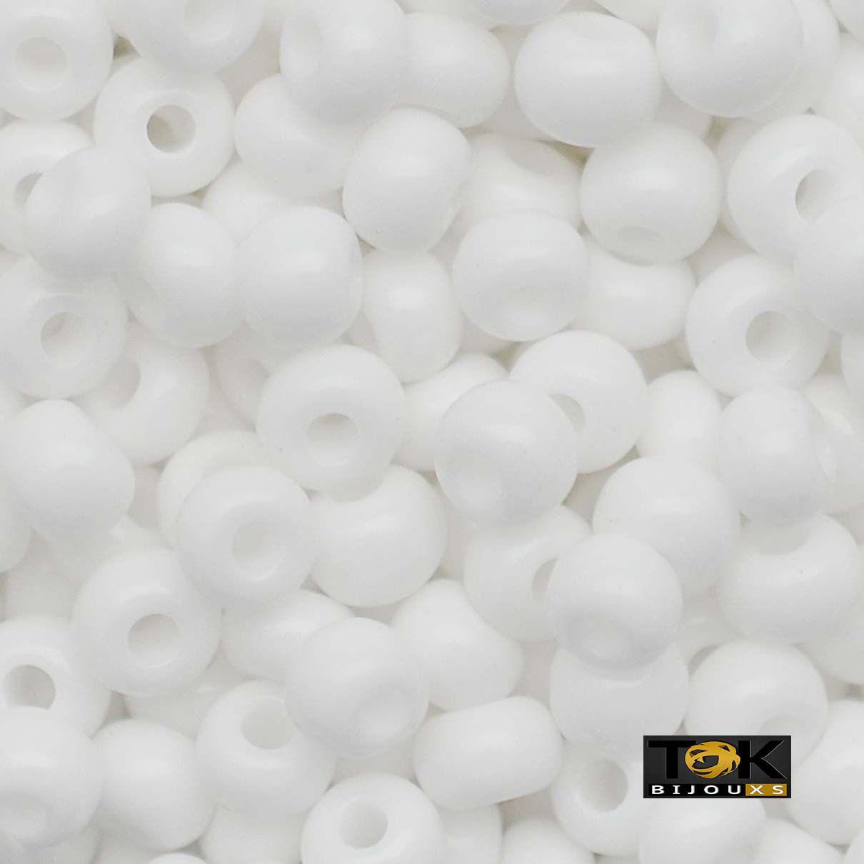 Missanguinha Jablonex - Branco Leitoso - 500g