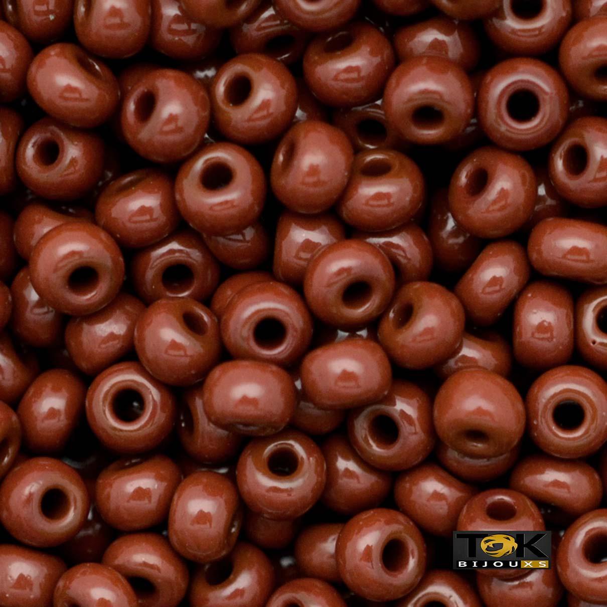 Missanguinha Jablonex - Marrom Leitoso - 500g