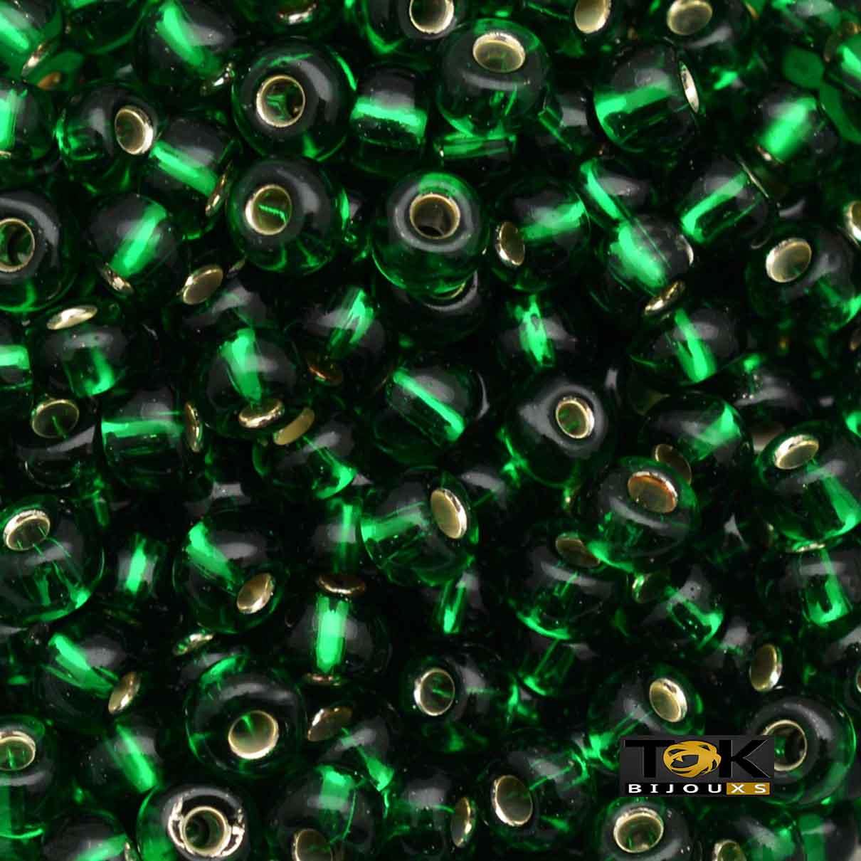 Missanguinha Jablonex - Verde Band Transparente - 500g