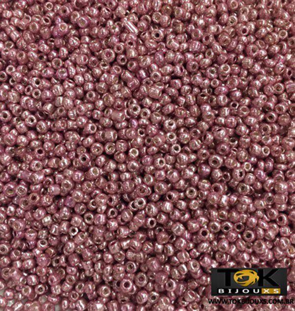 Missanguinha Rosa Metalizado 10/0 - 500g