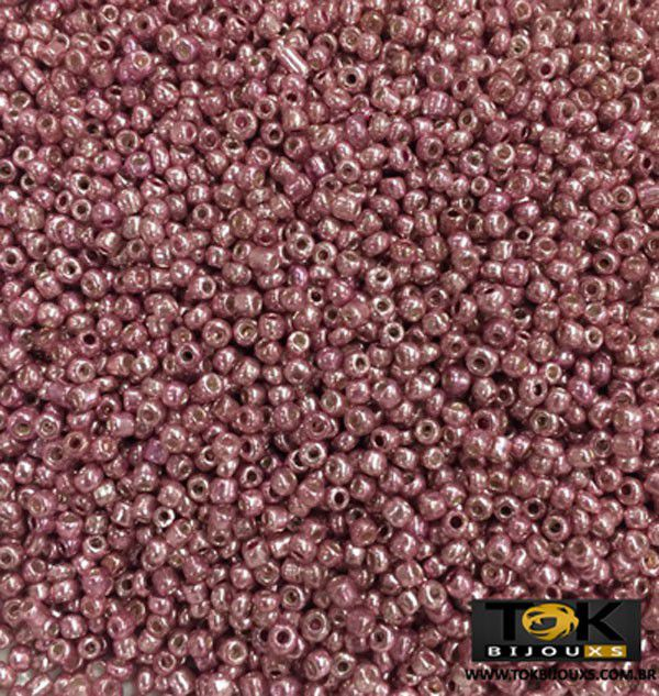 Missanguinha Rosa Metalizado 10/0 - 50g