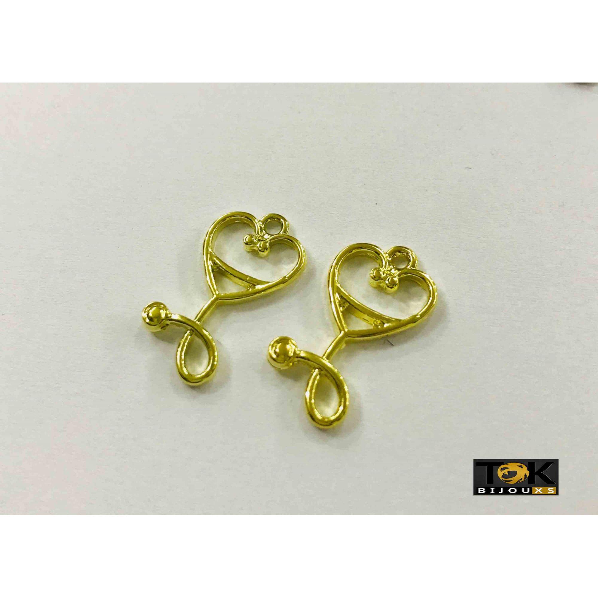 Pingente Profissão - Medicina - Dourado - 10 Unid