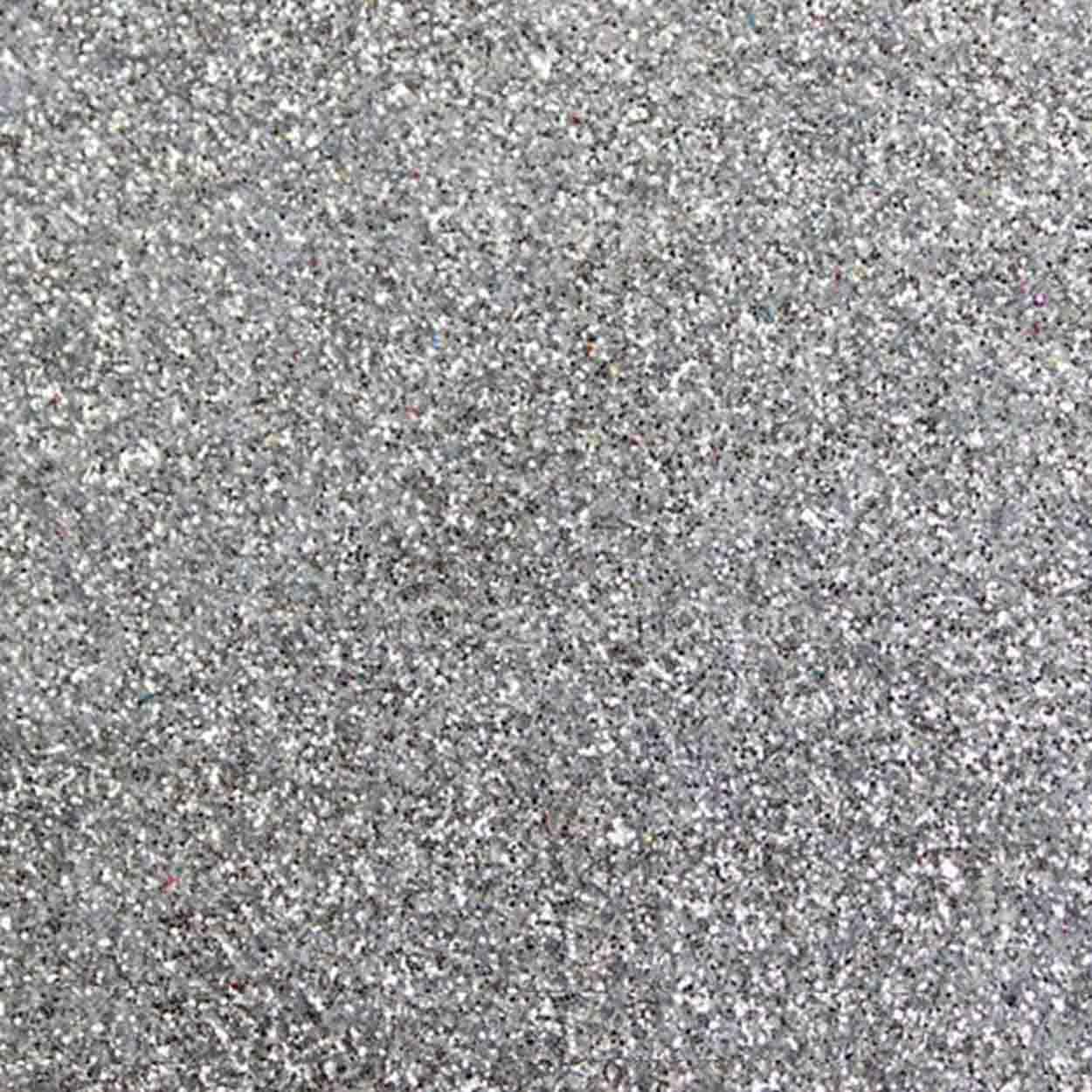 Purpurina Glitter - Prata - 500g
