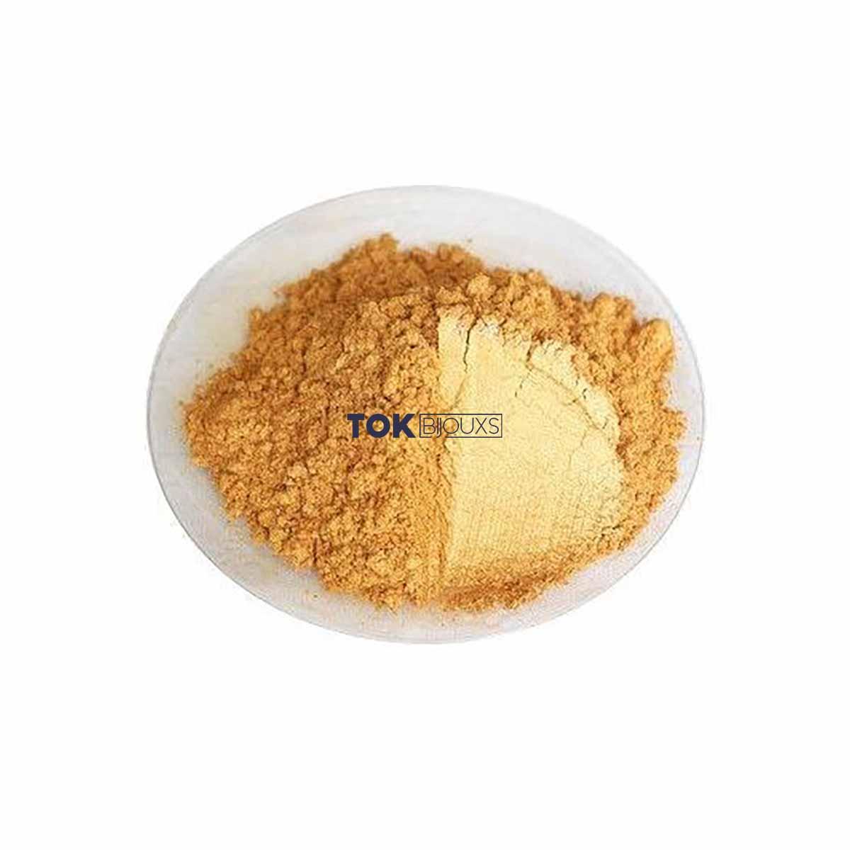 Purpurina - Pó Extra Fino - Dourado - 500g