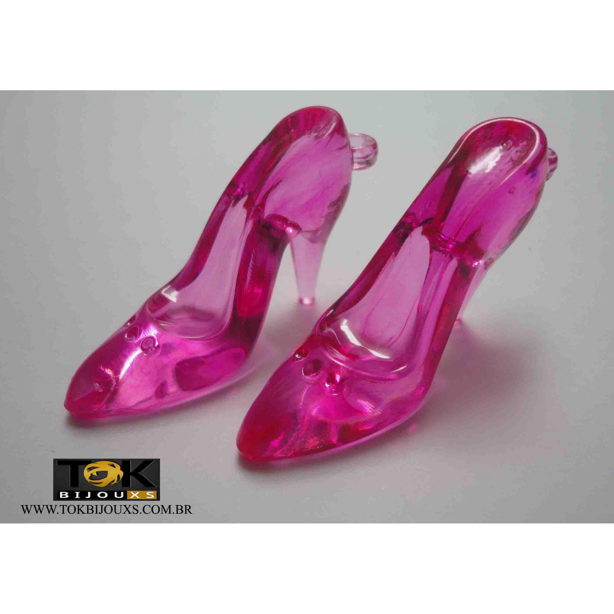 Sapato Acrilico Grande - Pink - Unidade