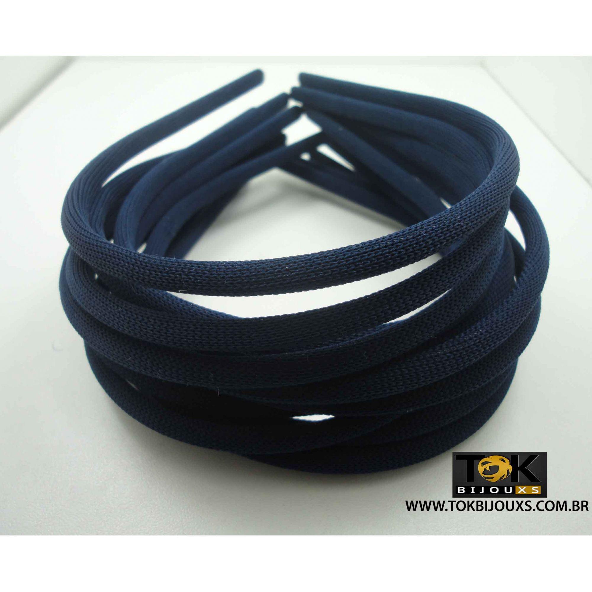Tiaras Encapadas 05mm Azul Escuro - 12Unid