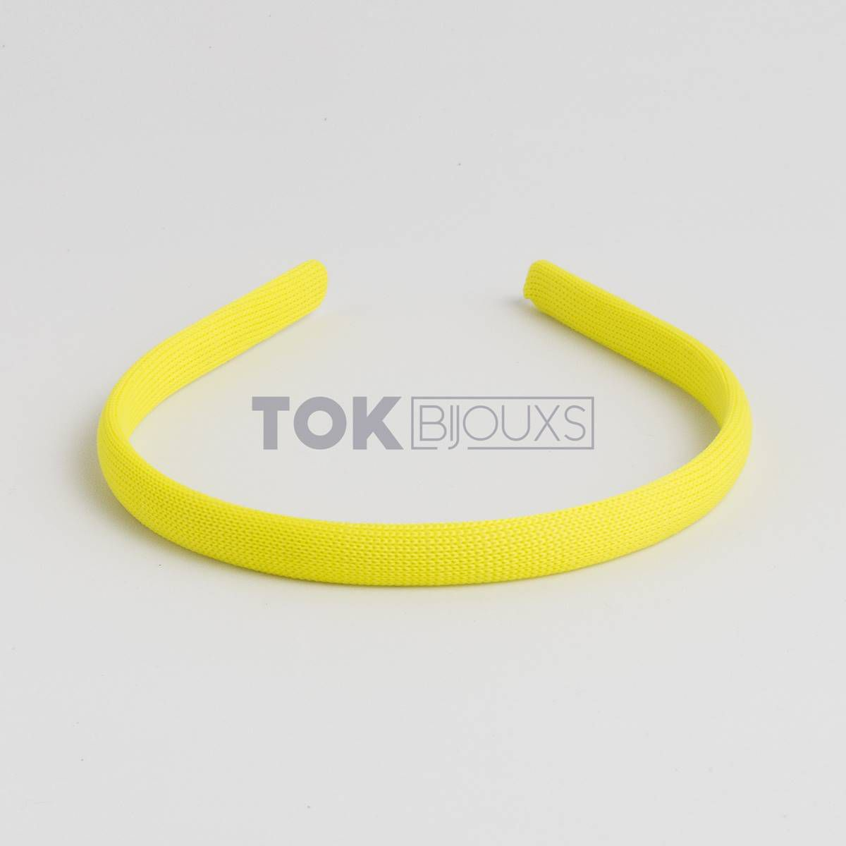 Tiaras Encapadas 10mm - Amarelo - 12Unid