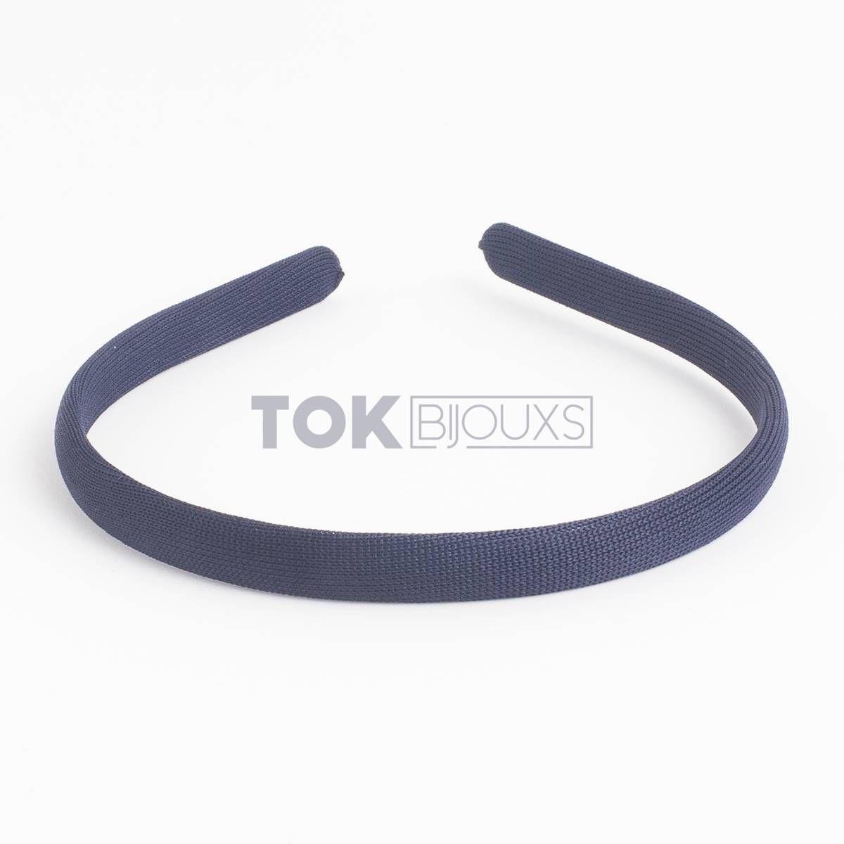 Tiaras Encapadas 10mm - Azul Marinho - 12Unid