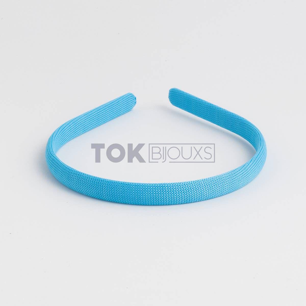 Tiaras Encapadas 10mm - Azul Turquesa - 12Unid