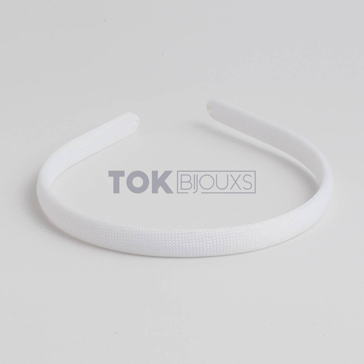 Tiaras Encapadas 10mm - Branco - 12Unid