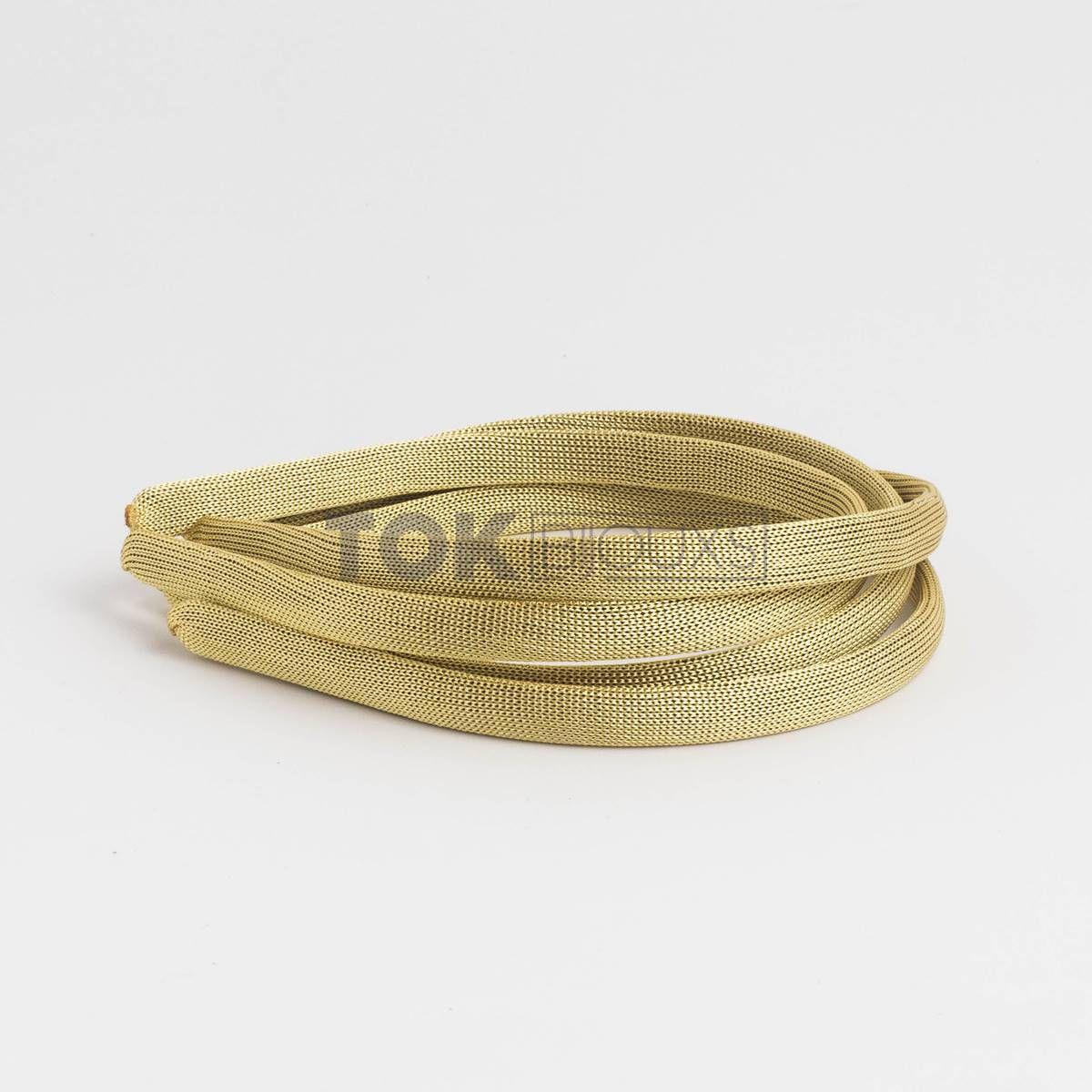 Tiaras Encapadas 10mm - Dourado - 12Unid