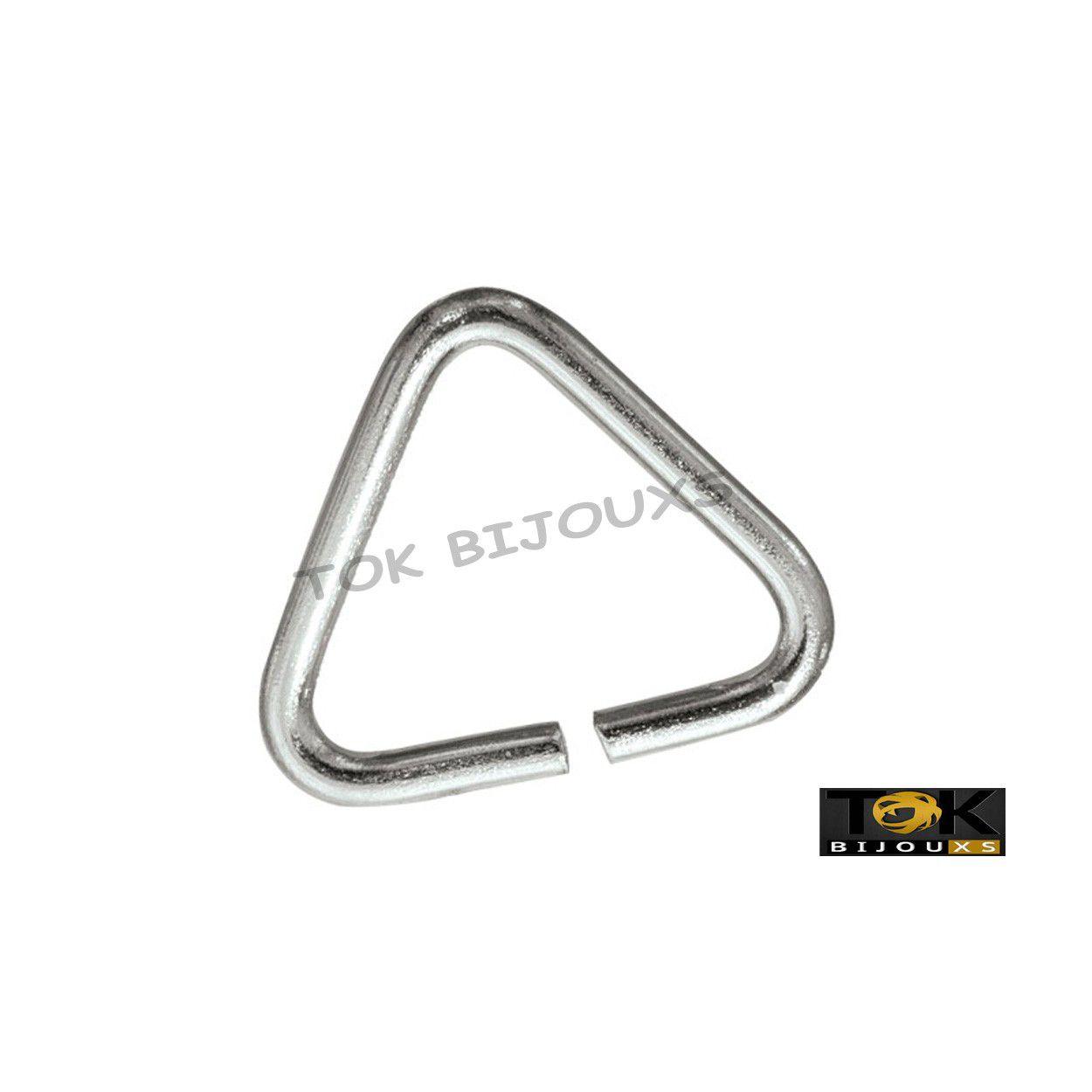 Triângulo Ferro - 7mm - Níquel - 500g
