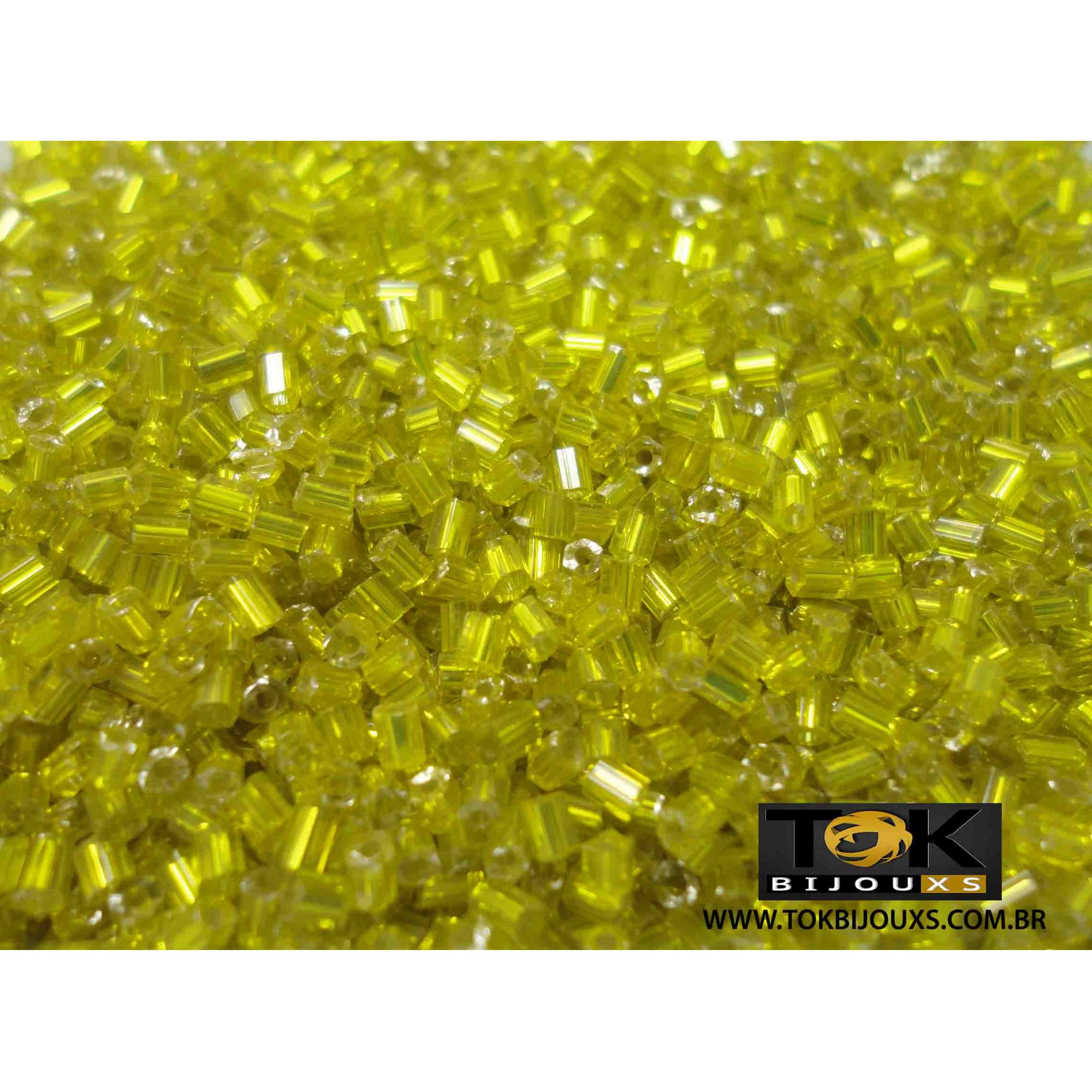Vidrilho Amarelo Claro - 50g