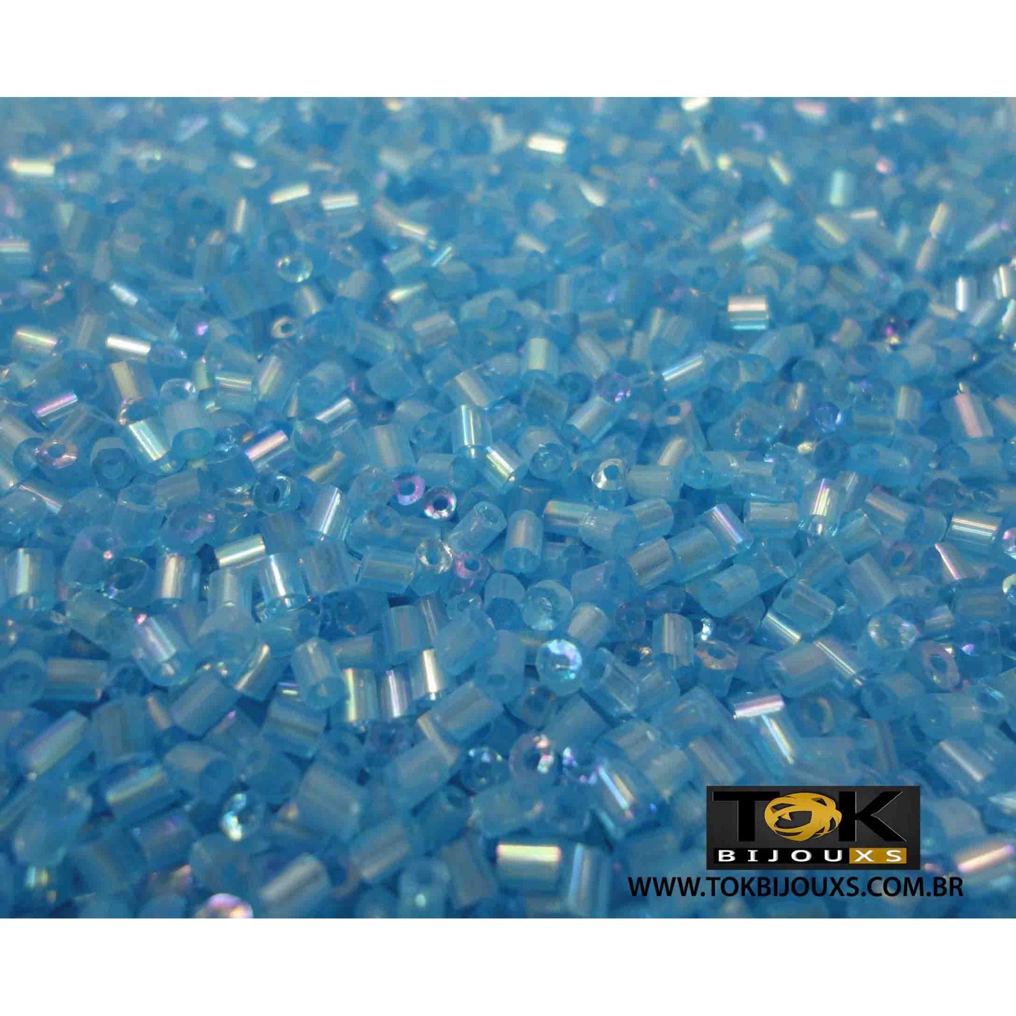 Vidrilho Azul Bebe Irisado - 50g
