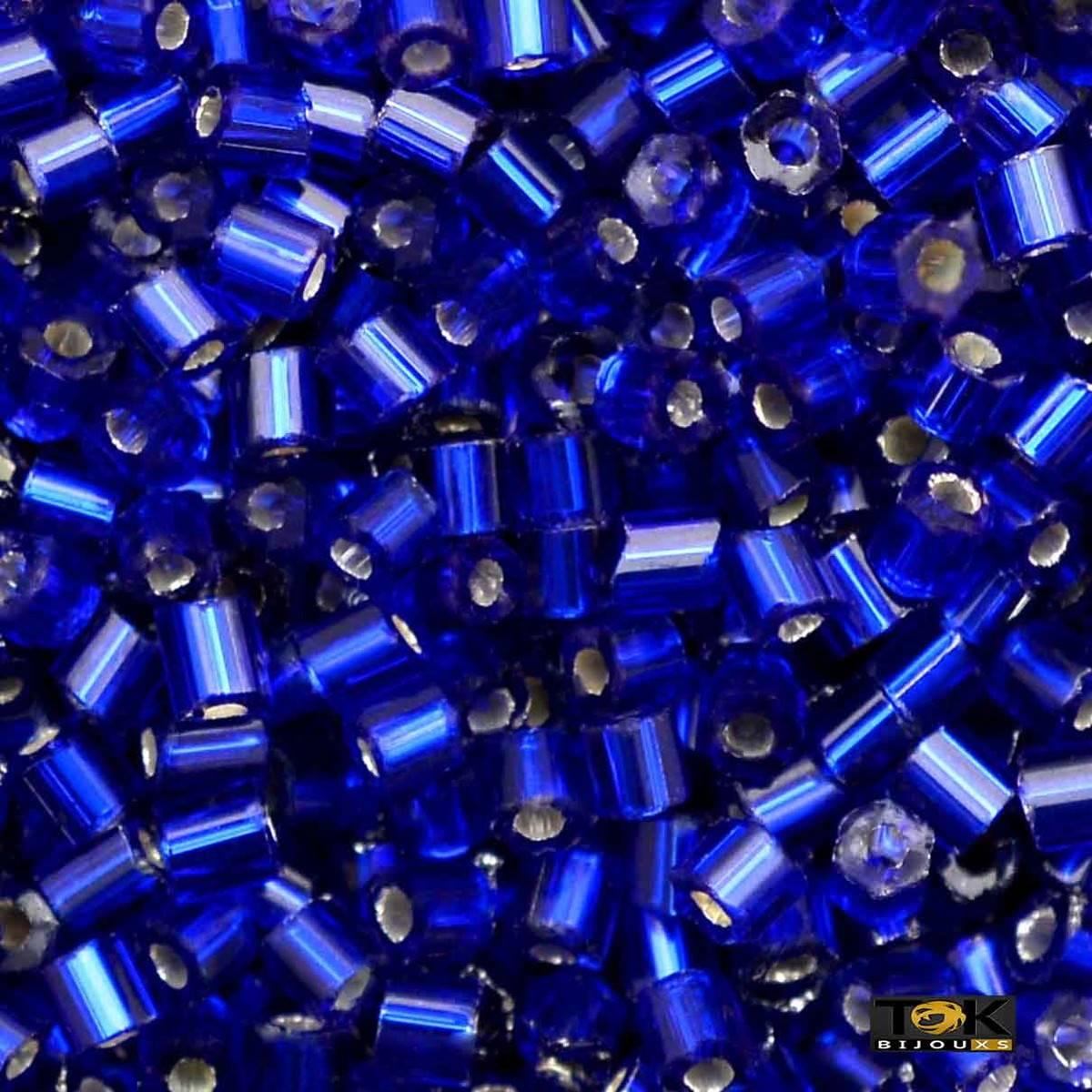 Vidrilho Jablonex - Azul Royal Escuro Transparente Ref.37100 - 25g