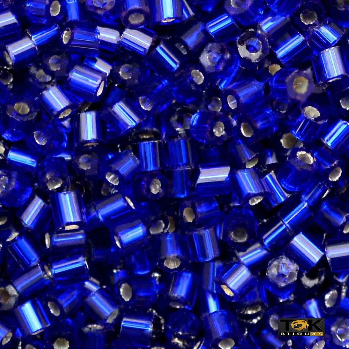 Vidrilho Jablonex - Azul Royal Esc Transp Ref 37100  - 500g