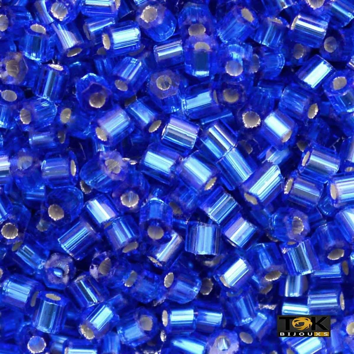 Vidrilho Jablonex - Azul Royal Médio Transparente Ref.37050 - 25g