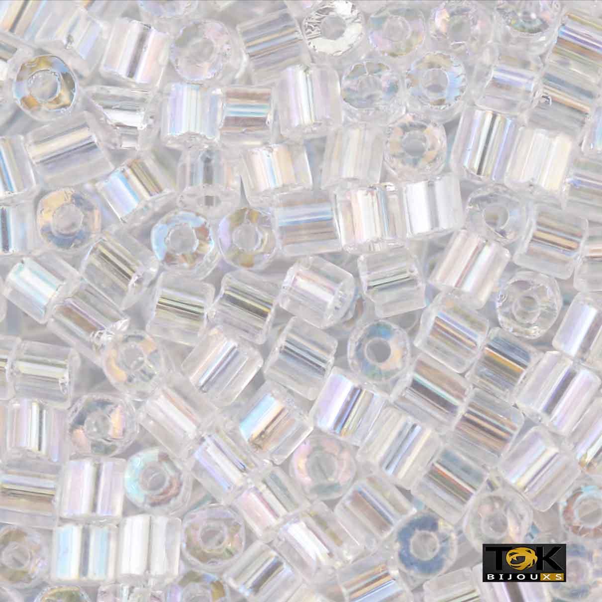 Vidrilho Jablonex - Transparente Irisado - 500g