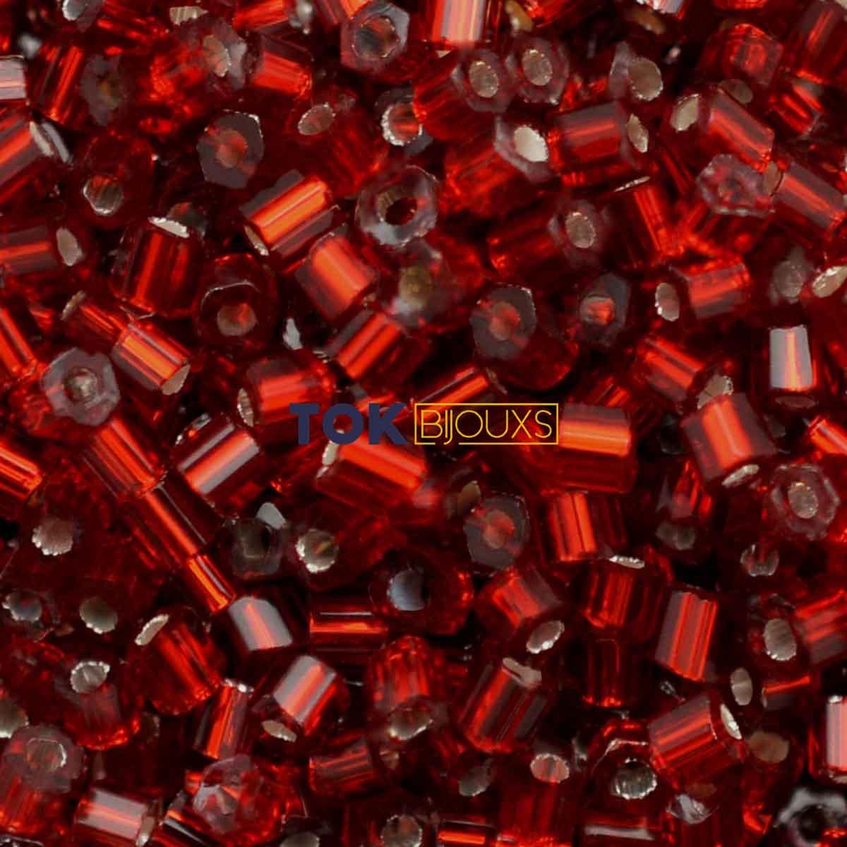 Vidrilho Jablonex - Vermelho Transparente - 500g