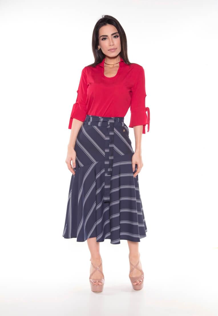 02e76ab61b Todos os produtos - Blusas - Cor Vermelho escuro - Tamanho 48 ...