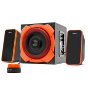 Caixa de Som Gamer Warrior 2.1 50W RMS  Grande Multilaser SP-266