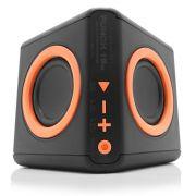 Caixa De Som Portátil Bluetooth 15W Preta/Laranja PWC-AUDWD