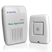 Campainha Sem Fio Distância Até 80m Maxtel JX-9812