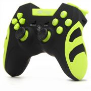 CONTROLE PS1/PS2/PS3/PC KNUP KP-4032 WLESS Verde