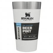 Copo térmico de cerveja sem tampa branco 473ml - stanley