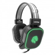 Headset Gamer com Microfone Conector 2x P2 +USB Hayom HF-2206