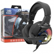 Headset Gamer 7.1 USB para PC PS3/PS4 Superbass Knup KP-470