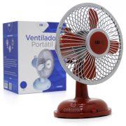 Mini Ventilador Portátil 2.5W 2 Velocidades Luatek LS-905