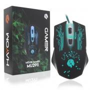 Mouse Gamer 6 Botões 2400 Dpi LED Hayom MU2911