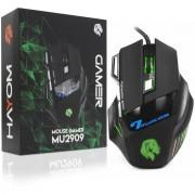 Mouse Gamer 7 Botões 3200dpi Gaming Plug & Play Hayom MU2909