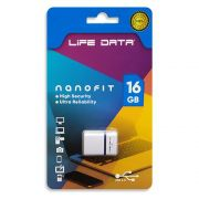 Pen Drive 16GB USB 2.0 Nanofit Life Data