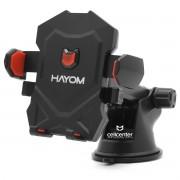 Suporte Veicular Universal para Celulares Gps Trava Automática Hayom SV3104