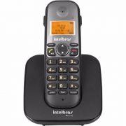 Telefone Sem Fio Intelbras TS 5120 Preto com Display e teclado luminosos