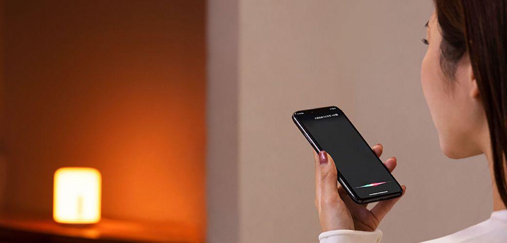 Abajur Xiaomi Bluetooth 9W 400 lúmens Android e IOS