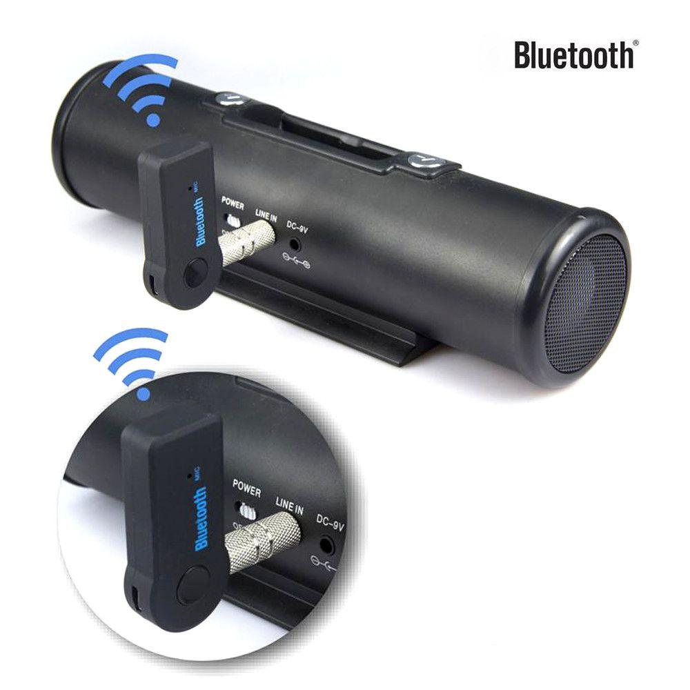 Adaptador Bluetooth P2 Carro e Som Musica Celular Android IOS BT-350