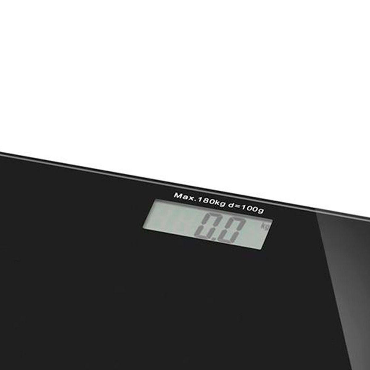 Balança Digital Vidro Lcd 180kg Banheiro Multilaser Hc022