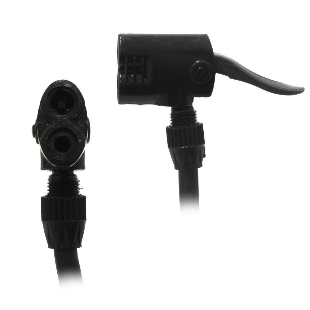 Bomba Para Inflar Manual Multifuncional Com Manômetro Luatek LKD-205
