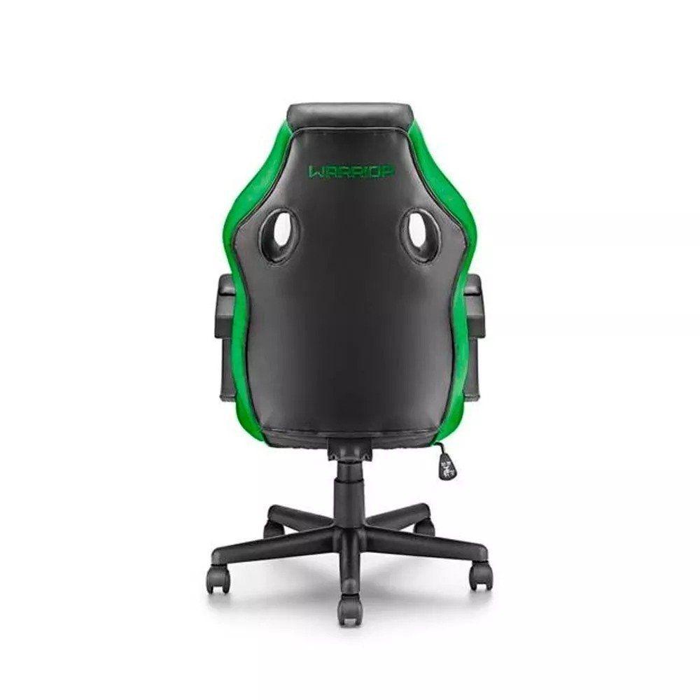 Cadeira Gamer Multilaser Warrior Ga160 Preto e Verde