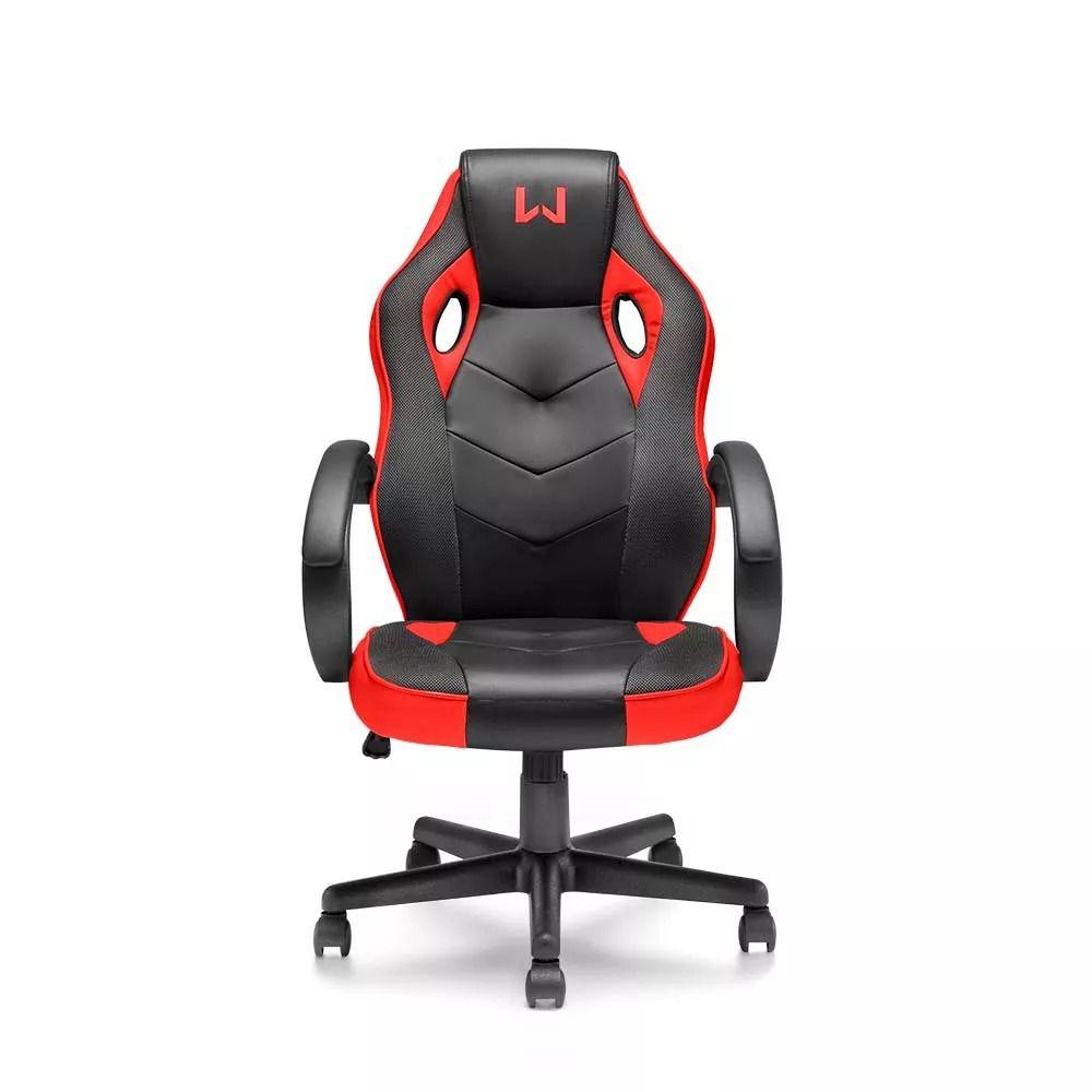 Cadeira Gamer Multilaser Warrior Ga162 Preto e Vemelho